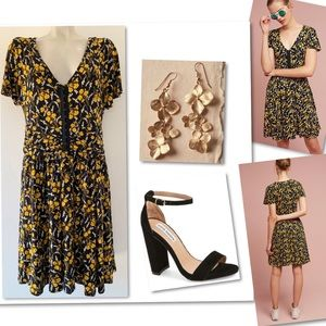 Anthropologie Maeve Summer Breeze in Paris Dress